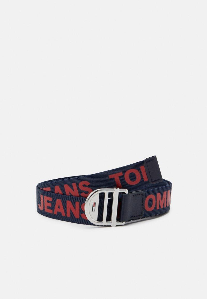 Tommy Jeans - WEBBING BELT - Pásek - blue