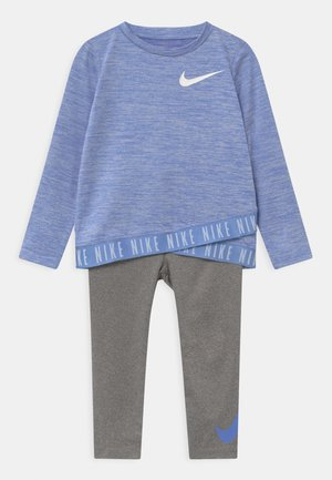 CROSSOVER SET - Tracksuit - carbon heather
