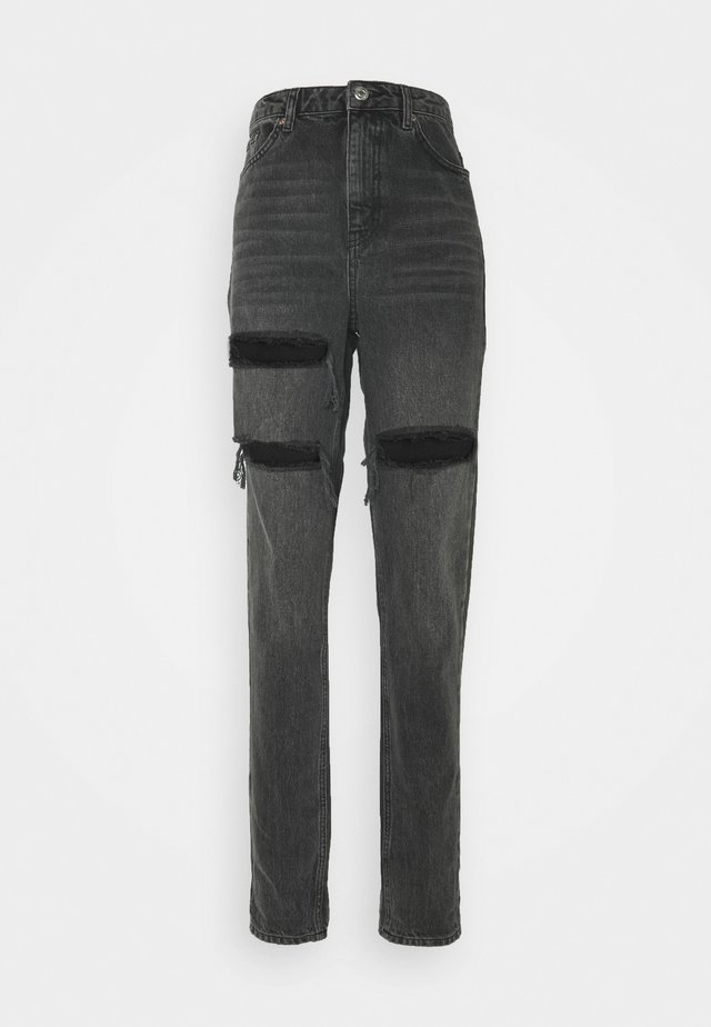 SOFIA MOM - Relaxed fit jeans - washed black