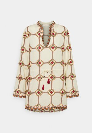 EMBROIDERED TUNIC - Tunika - geo print