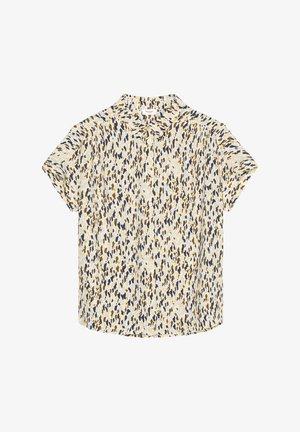 Button-down blouse - multi/sunlight