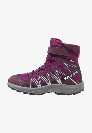 XA PRO 3D WINTER TS CSWP - Snowboot/Winterstiefel - dark purple/potent purple/atlantis