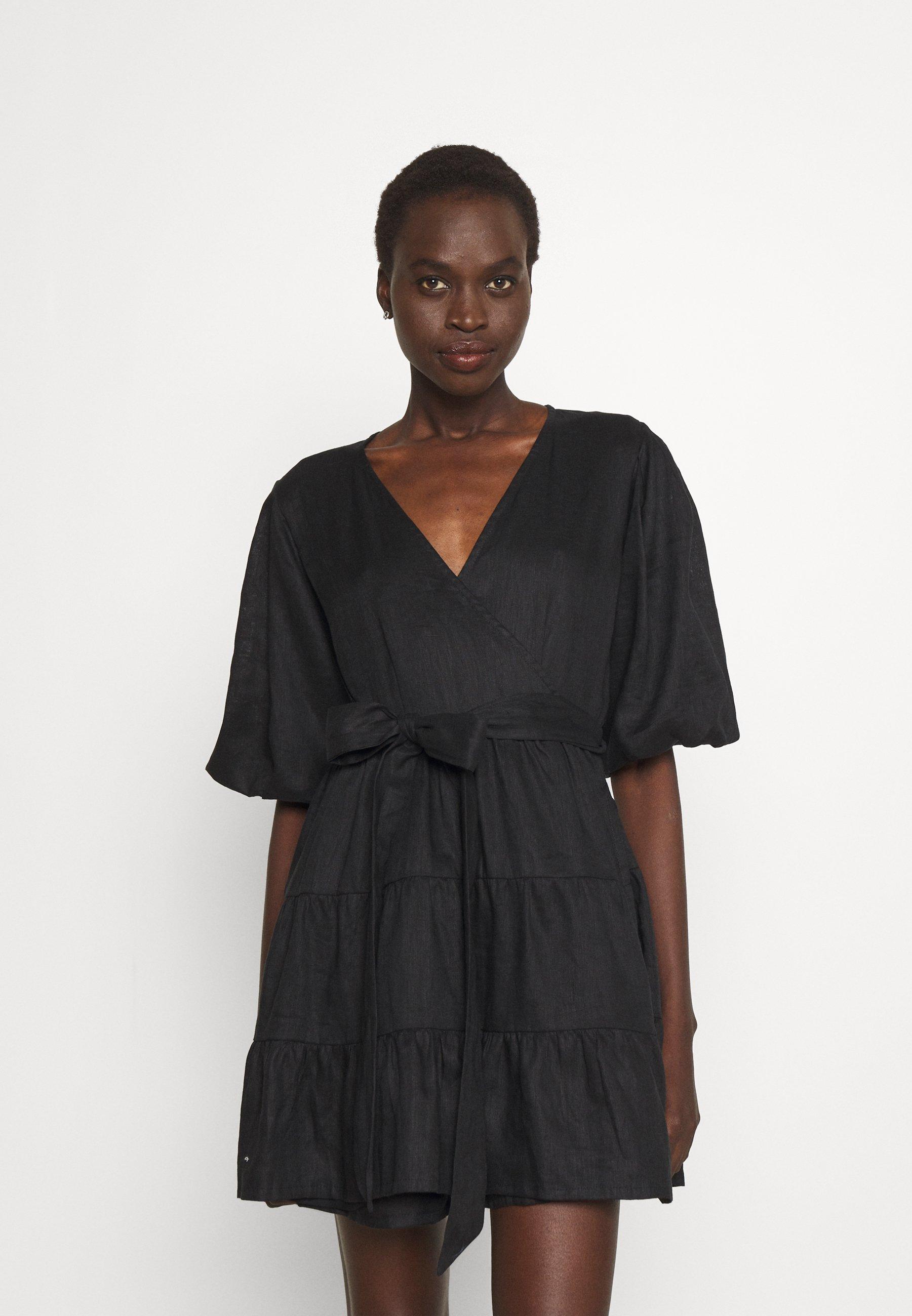 Women ROONEY WRAP MINI DRESS - Day dress