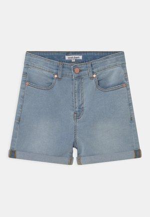 MOON  - Jeansshorts - light blue denim wash