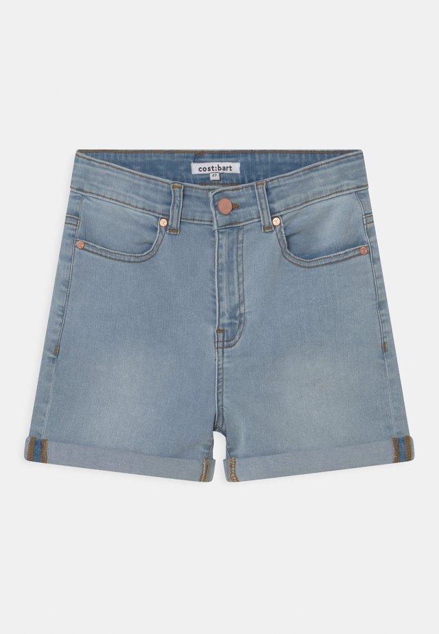 MOON  - Shorts di jeans - light blue denim wash