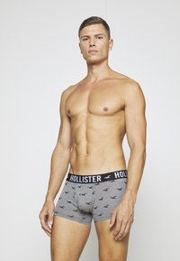 Hollister Co. - 5 PACK  - Boxer shorts - grey/dark blue/black - 5