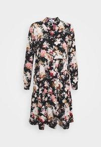 ONLY - ONLLARRY SHORT DRESS - Shirt dress - black - 0