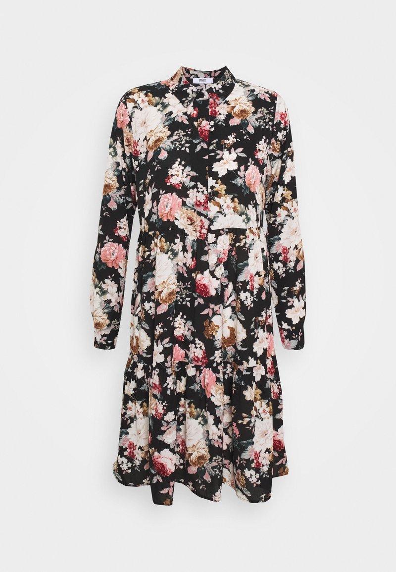 ONLY - ONLLARRY SHORT DRESS - Shirt dress - black