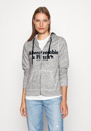 LONG LIFE FULL ZIP - Sudadera con cremallera - grey