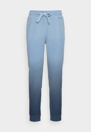 PANTS STRAIGHT FIT ELASTIC WAISTBAND  DIP DYE - Tracksuit bottoms - multi/blue shades