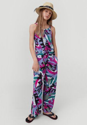 Jumpsuit - purple with
