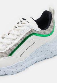 MSGM - SCARPA DONNA WOMANS SHOES - Tenisky - light grey/green - 6