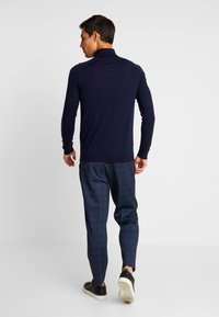 Benetton - ROLL NECK - Svetr - dark blue - 2