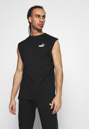 ESS SLEEVELESS TEE - Linne - puma black