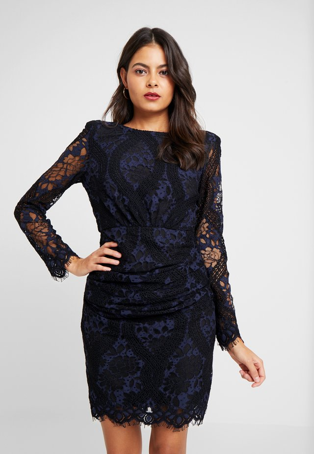 LET'S GET LOST MINI DRESS - Cocktail dress / Party dress - navy