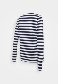 Pieces Maternity - PCMRIA NEW TEE - Long sleeved top - bright white/maritime blue - 1