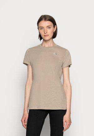RECYCLED SCRAP PROGRAM TEE - T-shirt basic - flax