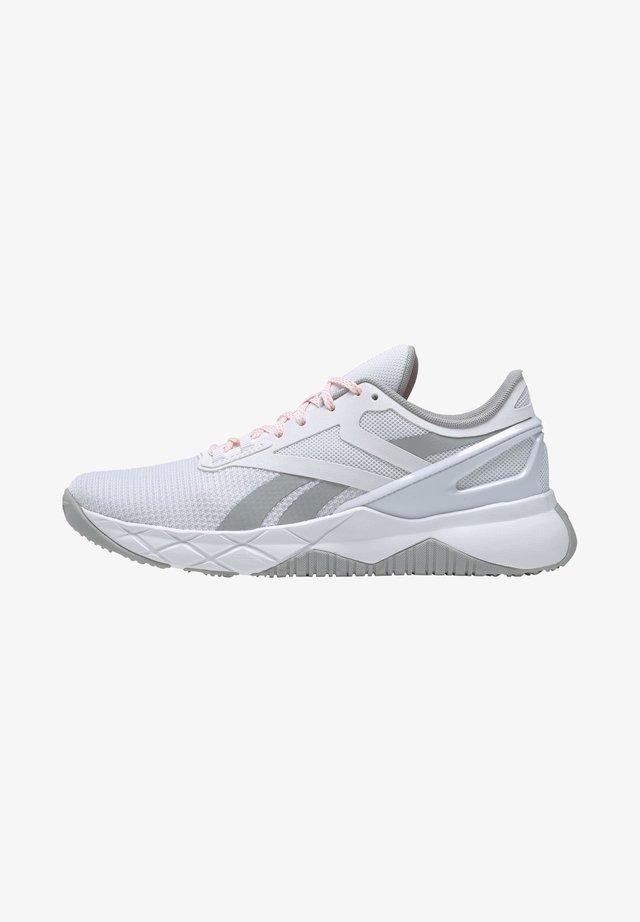 NANOFLEX TRAINING - Sneakersy niskie - white