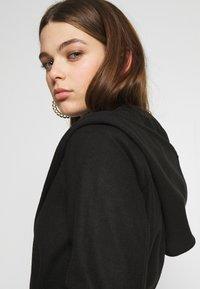 JDY - JDYOVIDA LONG HOOD JACKET - Short coat - black - 3