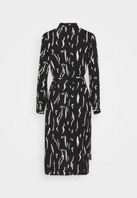 Vero Moda - VMELITA  - Shirt dress - black/white - 5