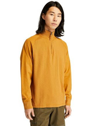 LS CAN 1/2 ZIP PL - Sudadera - wheat boot