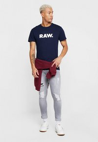 G-Star - HOLORN - T-shirt print - sartho blue - 1
