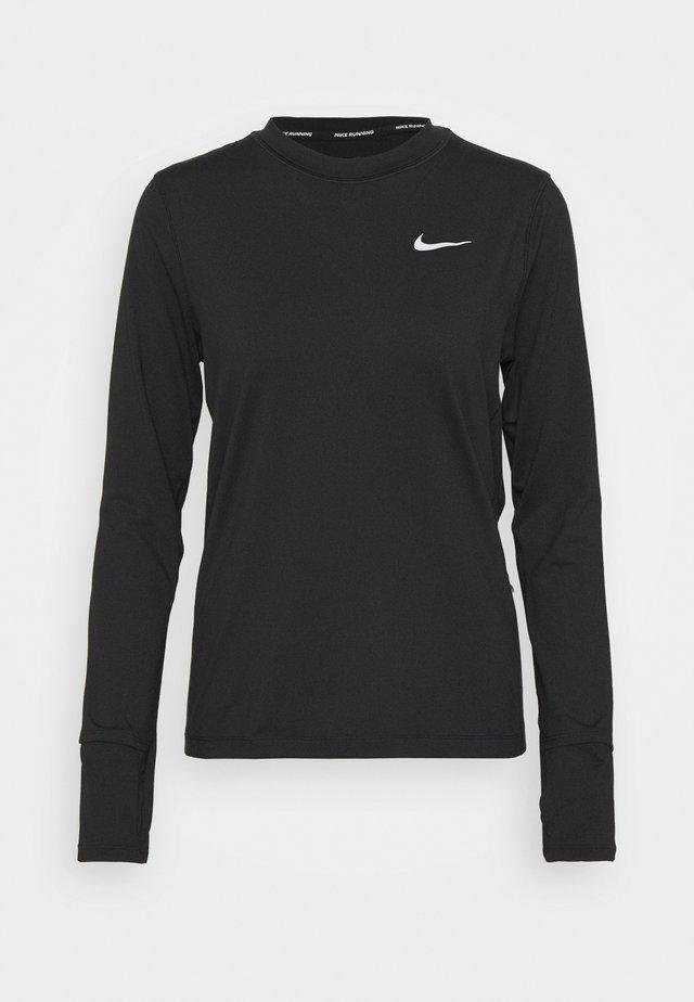 W NK ELEMENT  - Långärmad tröja - black/silver