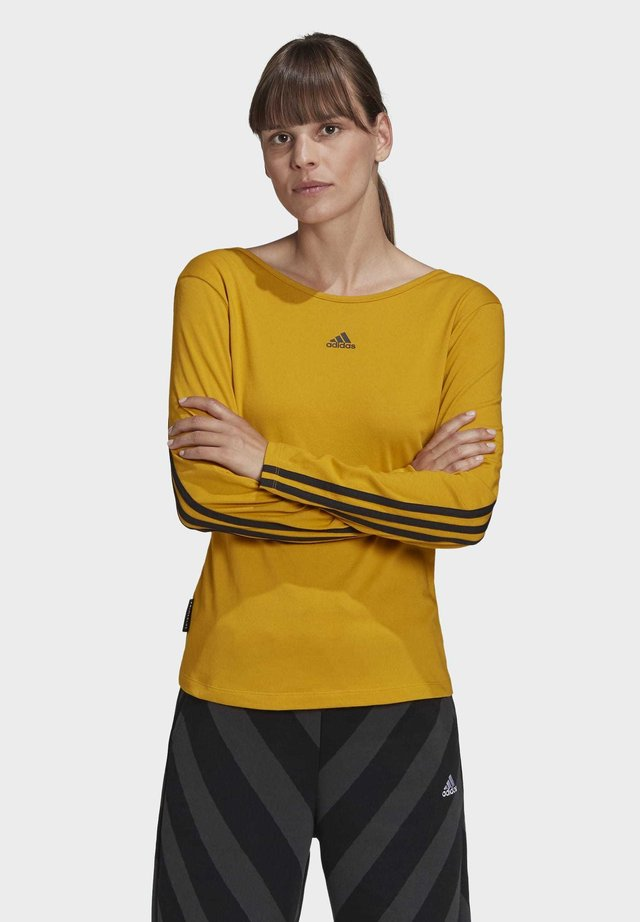 PRIMEBLUE LONG-SLEEVE TOP - Topper langermet - gold