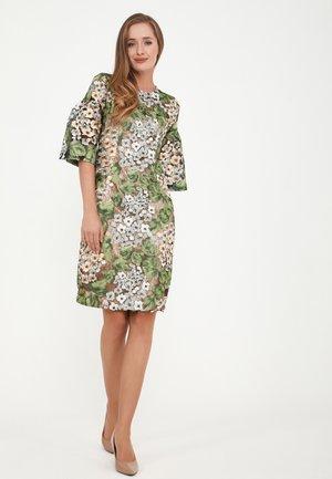 DEGA - Cocktail dress / Party dress - orange, grün