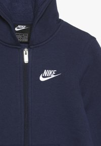 Nike Sportswear - CLUB HOODIE - veste en sweat zippée - midnight navy - 4