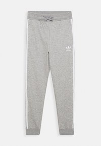 adidas Originals - TREFOIL PANTS - Jogginghose - grey/white - 0