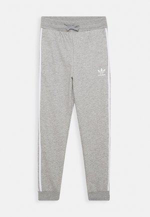 TREFOIL PANTS - Tracksuit bottoms - grey/white