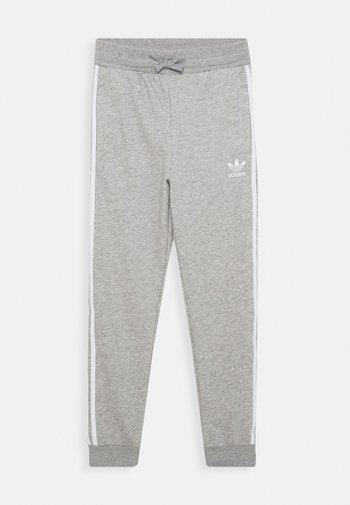 TREFOIL PANTS - Pantalon de survêtement - grey/white