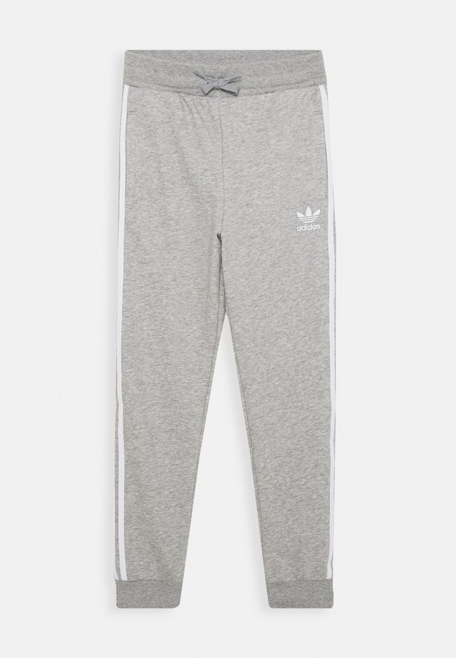 TREFOIL PANTS - Pantalon de survêtement - grey/white