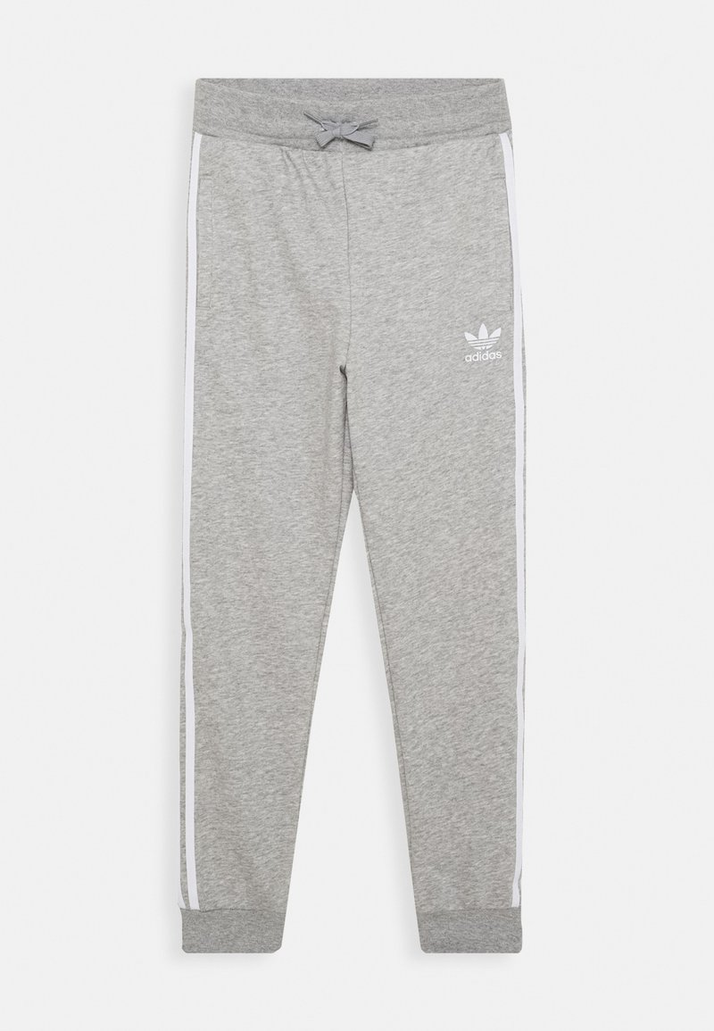 adidas Originals - TREFOIL PANTS - Trainingsbroek - grey/white