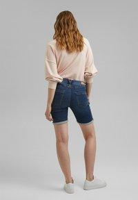 Esprit - Denim shorts - blue medium washed - 5
