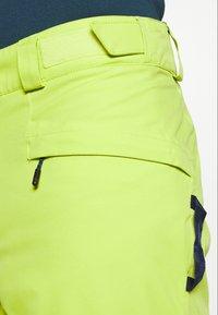 Columbia - KICK TURN PANT - Skibroek - bright chartreuse - 3