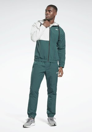 WOVEN TRACKSUIT - Trainingspak - green