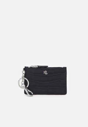 MATTE EMBOSS ZIP CARD - Wallet - navy
