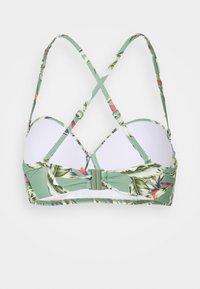 Esprit - PANAMA BEACH - Bikini top - light khaki - 7