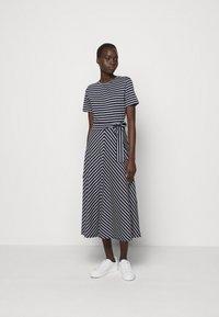 Marella - NAUTICA - Jersey dress - blu/bianco - 0