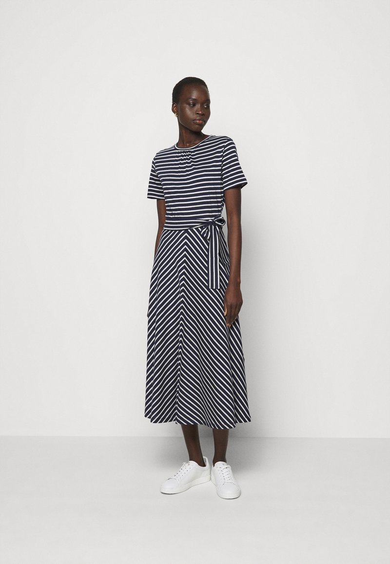 Marella - NAUTICA - Jersey dress - blu/bianco