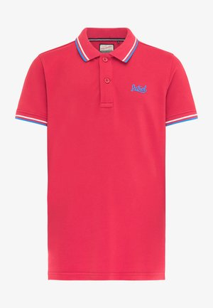 Polo shirt - fire red