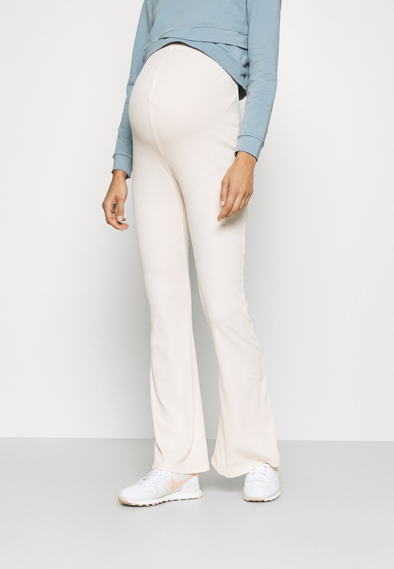 Missguided Maternity - MATERNITY FLARE - Legíny - light pink