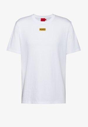 DURNED - Print T-shirt - white