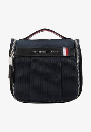 ELEVATED HANGING WASHBAG - Taška na víkend - blue