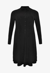 Yoek - Shirt dress - black - 3