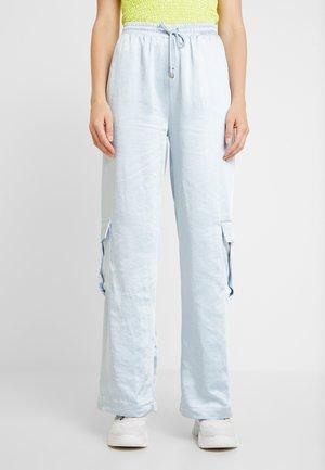 PANT - Spodnie materiałowe - sky