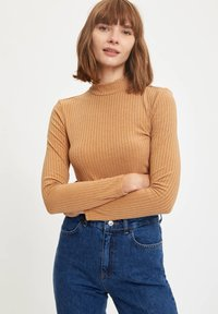 DeFacto - Long sleeved top - brown - 0