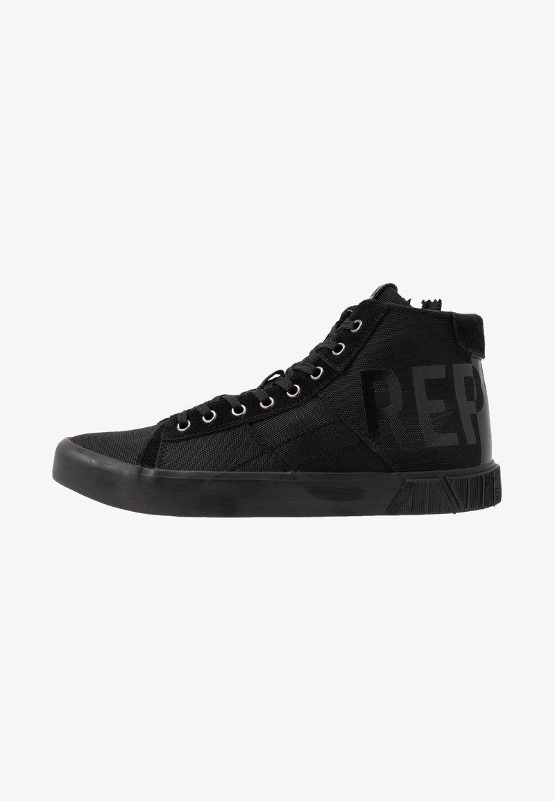 Replay - BASKIN - Sneakers alte - black
